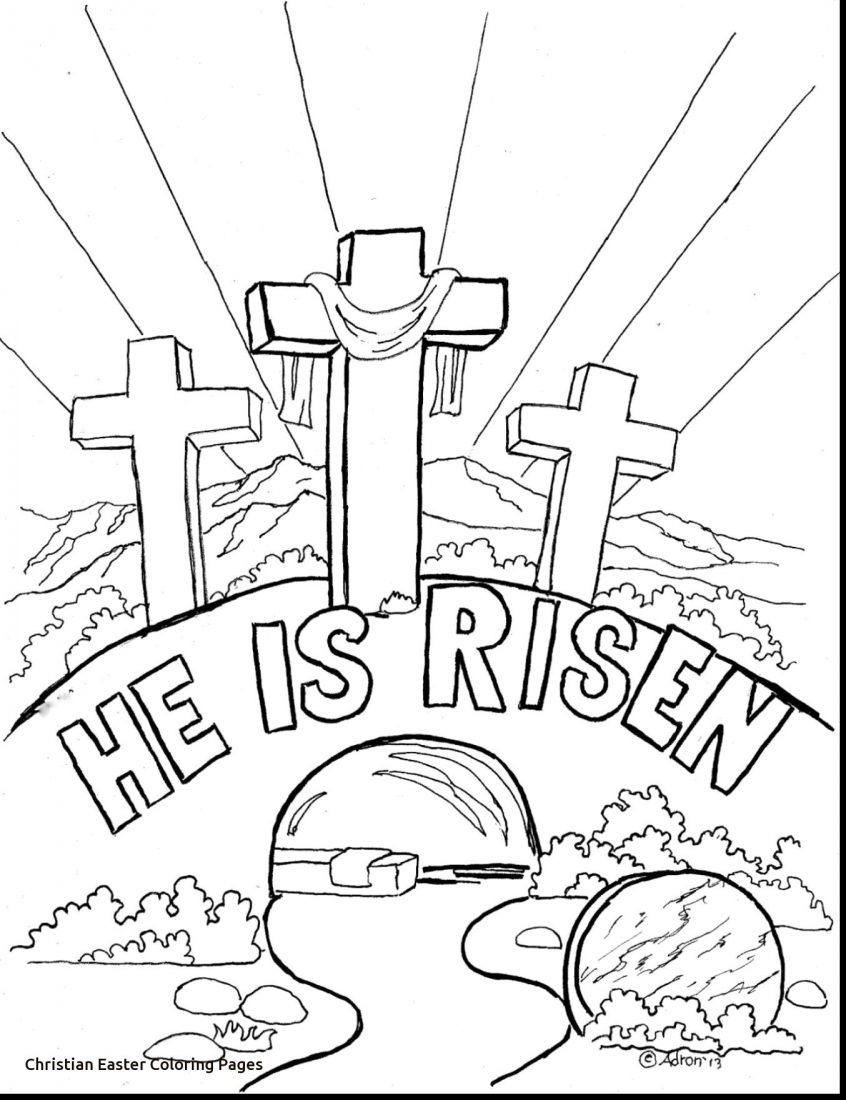 Jesus Easter Coloring Pages Printable Coloring Christian Easter Coloring Pages Phenomenal Books Bible