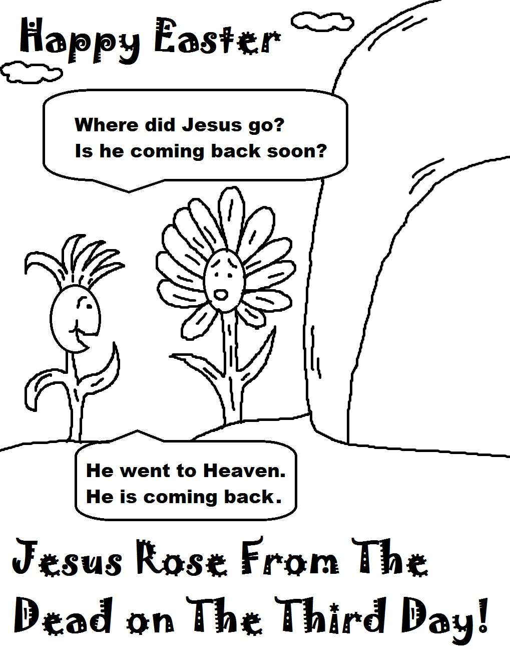 Jesus Easter Coloring Pages Printable Easter Coloring Pages