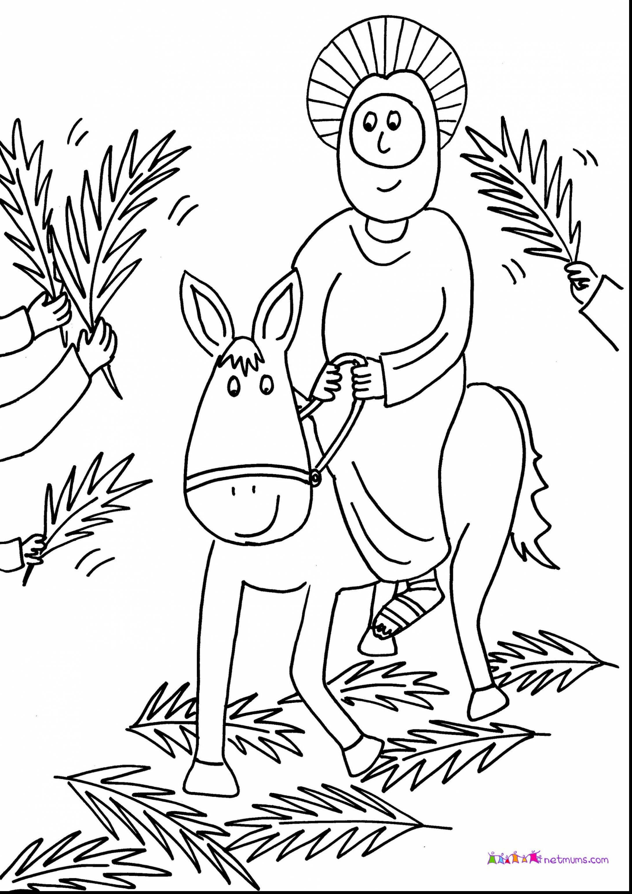 Jesus Easter Coloring Pages Printable Printable Religious Easter Coloring Pages At Getdrawings Free