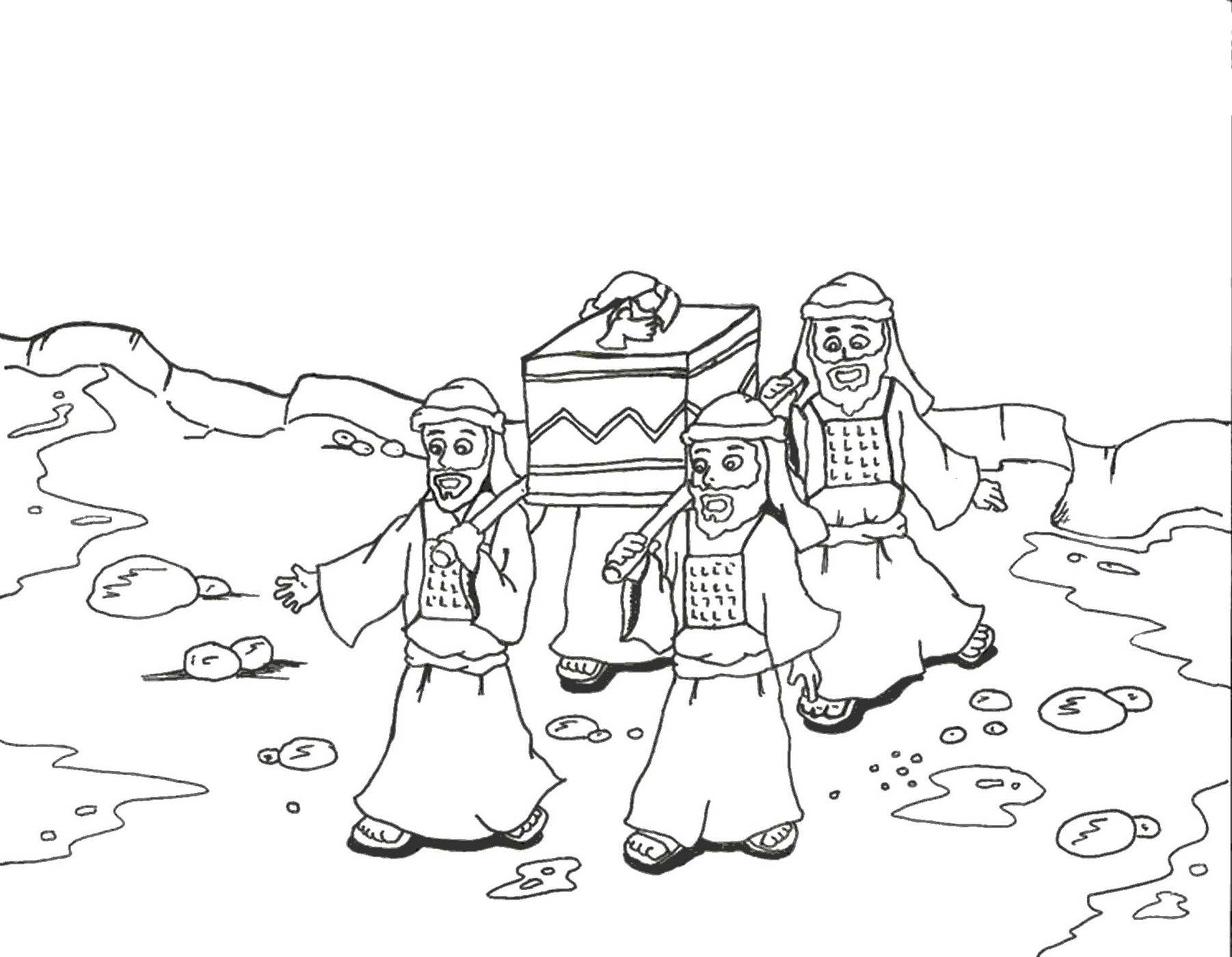 Joshua Fought The Battle Of Jericho Coloring Page Collection Joshua Tree Coloring Pages For Adults Pictures