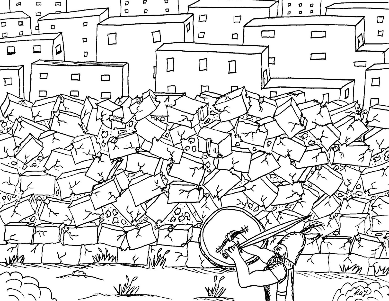 Joshua Fought The Battle Of Jericho Coloring Page Robins Great Coloring Pages Joshua Fought The Battle Of Jericho