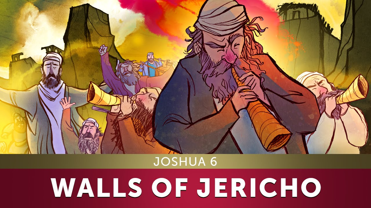 Joshua Fought The Battle Of Jericho Coloring Page The Walls Of Jericho Joshua 6 Sunday School Lesson And Bible Teaching Story For Kids Hd