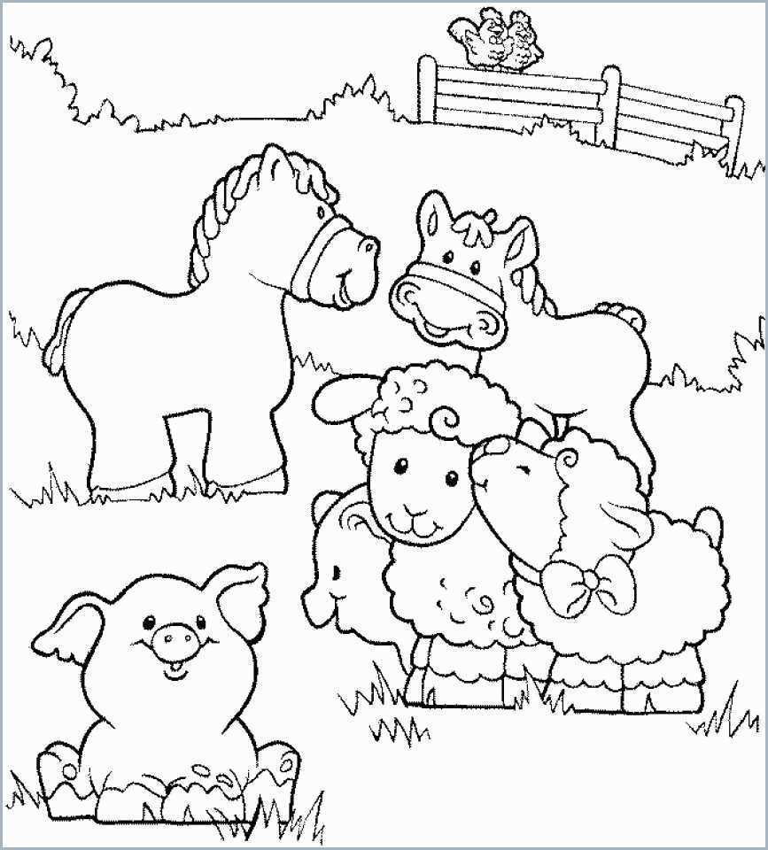 Kids Farm Coloring Pages Coloring Farm Animals Coloring Page Vet Book Admirable Get This