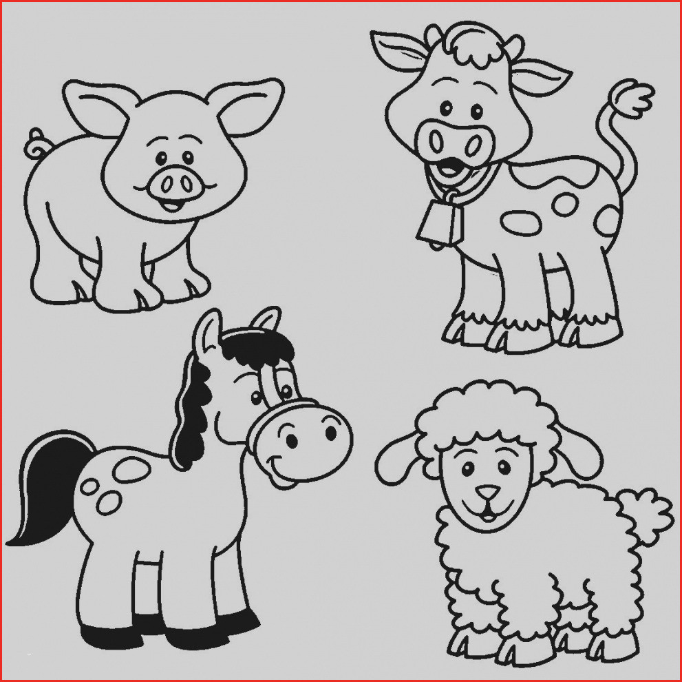 Kids Farm Coloring Pages Farm Animals Drawing 68902 Farm Animal Coloring Pages Cool Farm