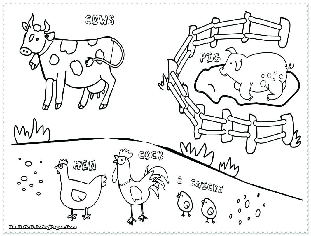 Kids Farm Coloring Pages Farm Coloring Page Coloring Pages Farm Preschool Farmer Coloring