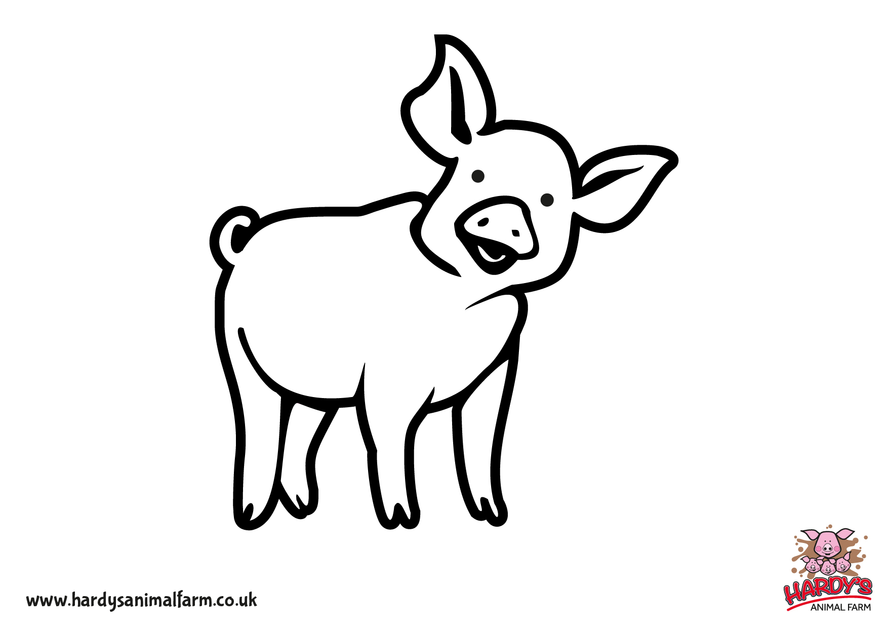 Kids Farm Coloring Pages Farm Worksheets And Coloring Pages For Young Kids Printable
