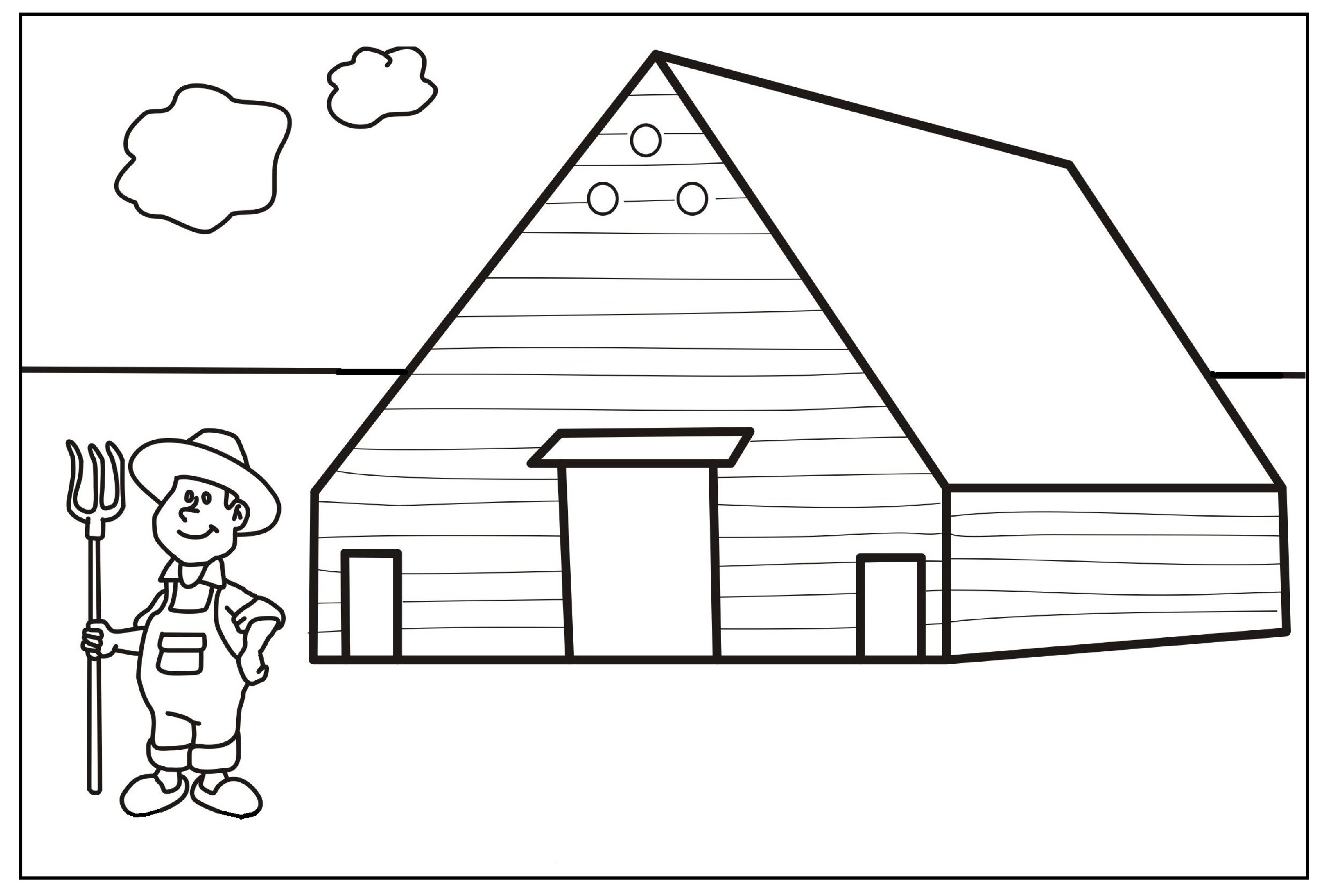 Kids Farm Coloring Pages Kids Farmers Coloring Page Free Printable Pages And Farmer
