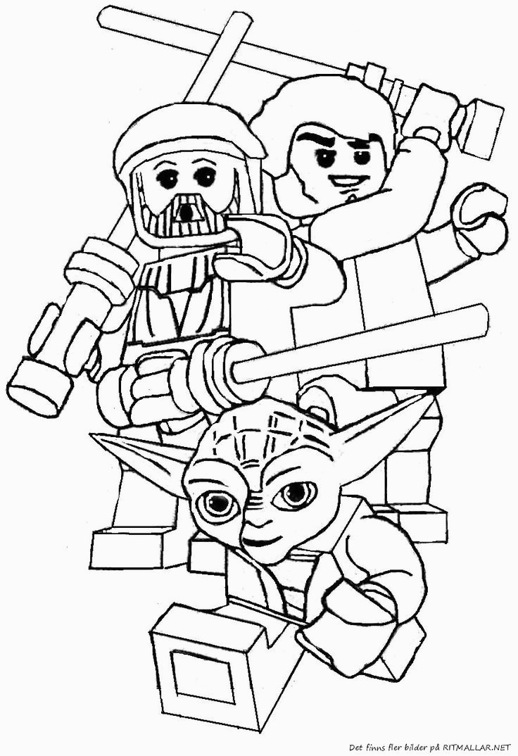 Lego Coloring Pages Star Wars 41 Best Images About Lego Coloring Pages On Pinterest For Star Wars