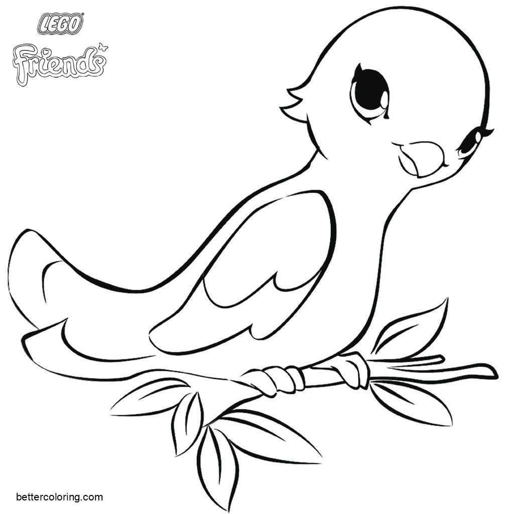 Lego Friends Printable Coloring Pages Lego Friends Coloring Page Bird Free Printable Coloring Pages