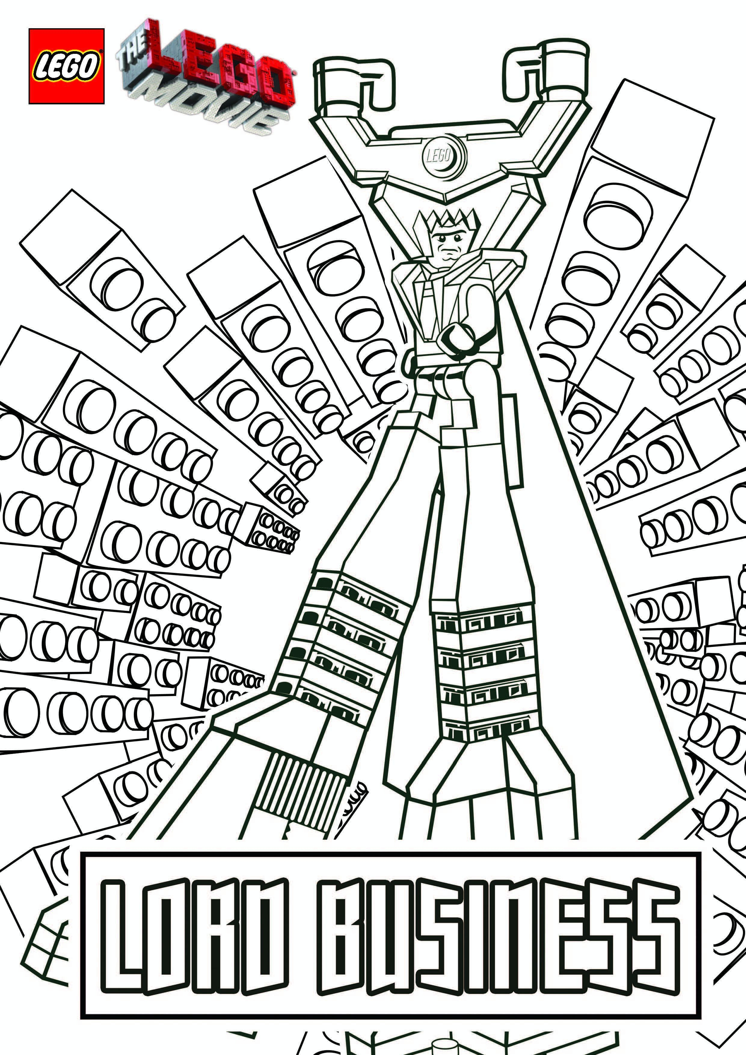 Lego Movie Color Pages Awesome Lego Movie Coloring Pages Jvzooreview