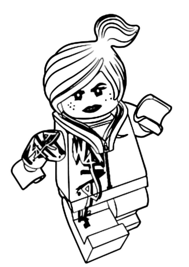 Lego Movie Color Pages Collection Lego Movie Coloring Book Pictures Sabadaphnecottage