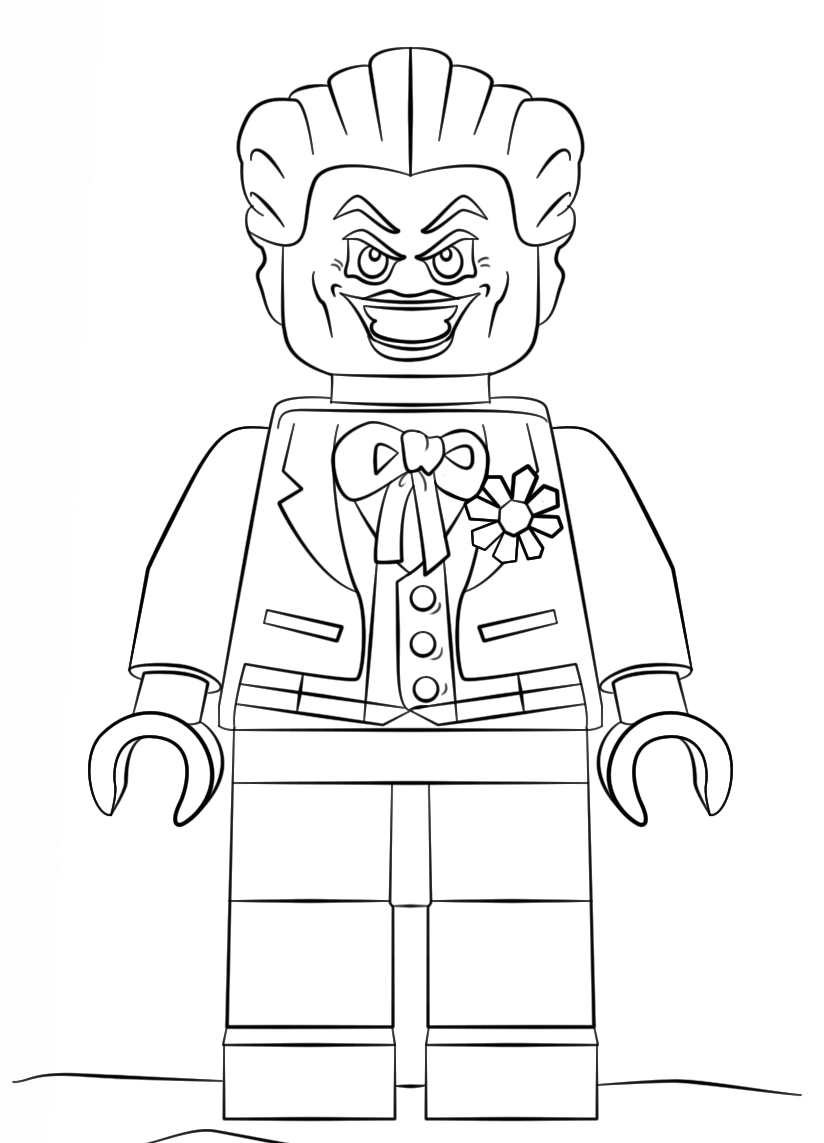Lego Movie Color Pages Coloring Pages Joker The Lego Movie Coloring Pages Coloringsuite