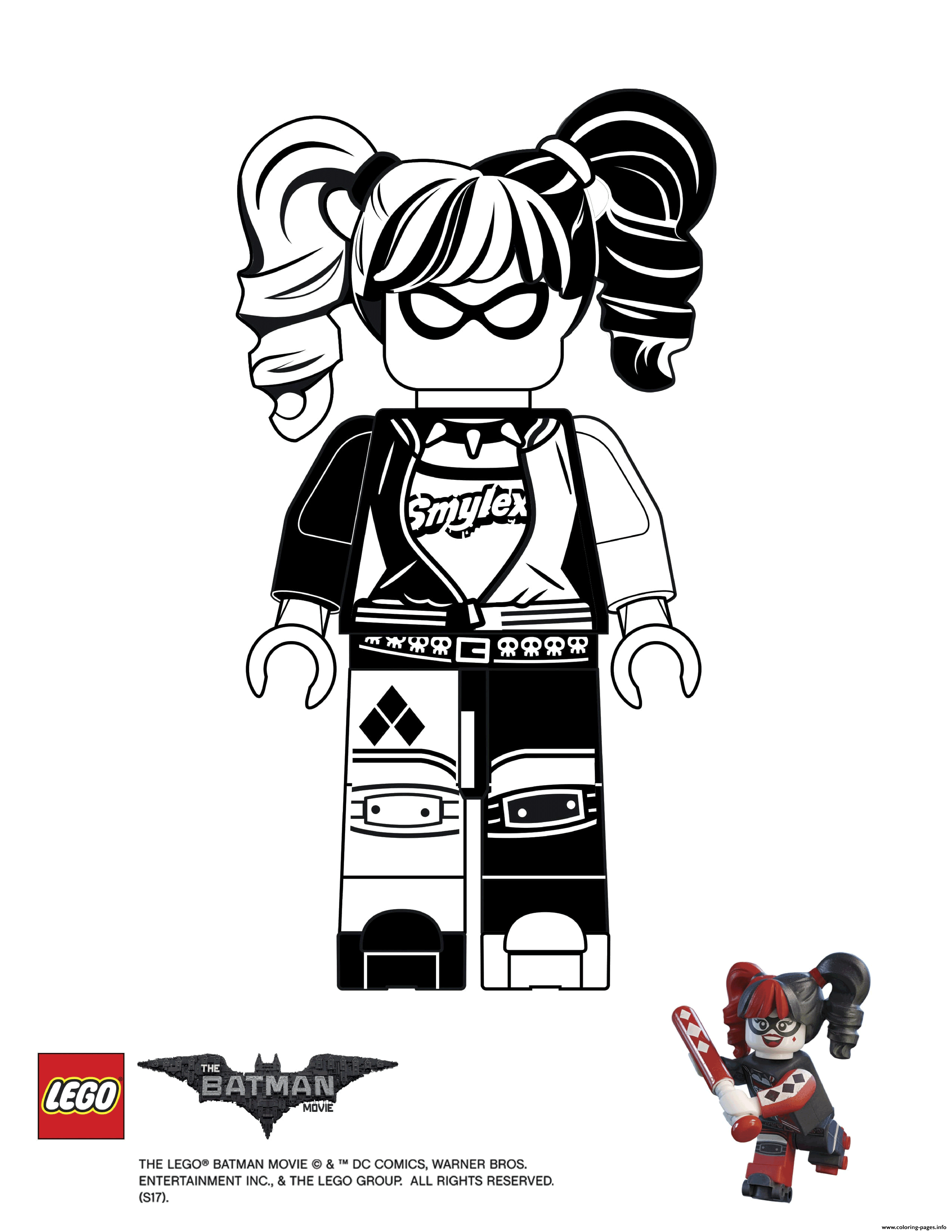 Lego Movie Color Pages Images Of Lego Movie Coloring Pages To Print Sabadaphnecottage