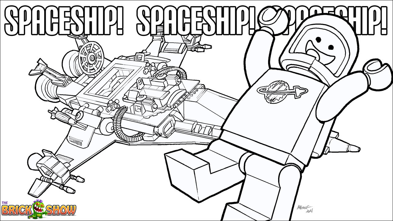 Lego Movie Color Pages Lego Benny Coloring Page Now Available More The Brick Show