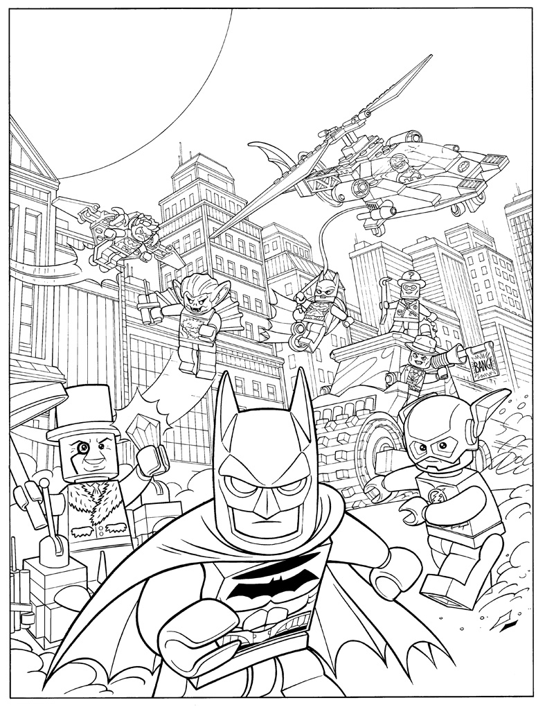 Lego Movie Color Pages Lego Movie Coloring Pages For Kids Coloringstar