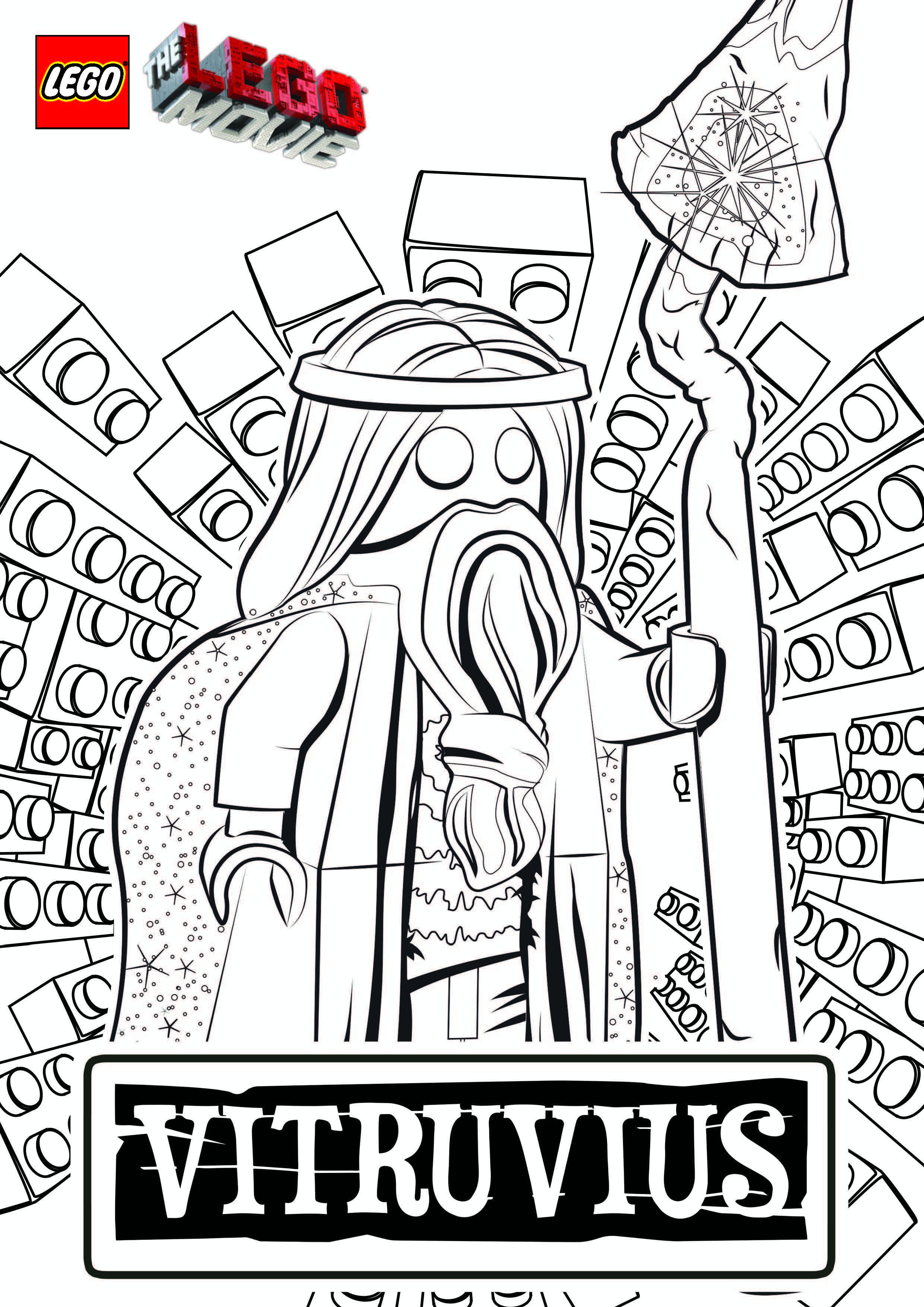 Lego Movie Color Pages The Lego Movie Coloring Pages Coloring To Humorous Picture Lego