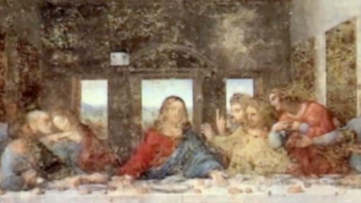 Leonardo Da Vinci The Last Supper Coloring Page Leonardo Da Vinci Analyzing The Last Supper