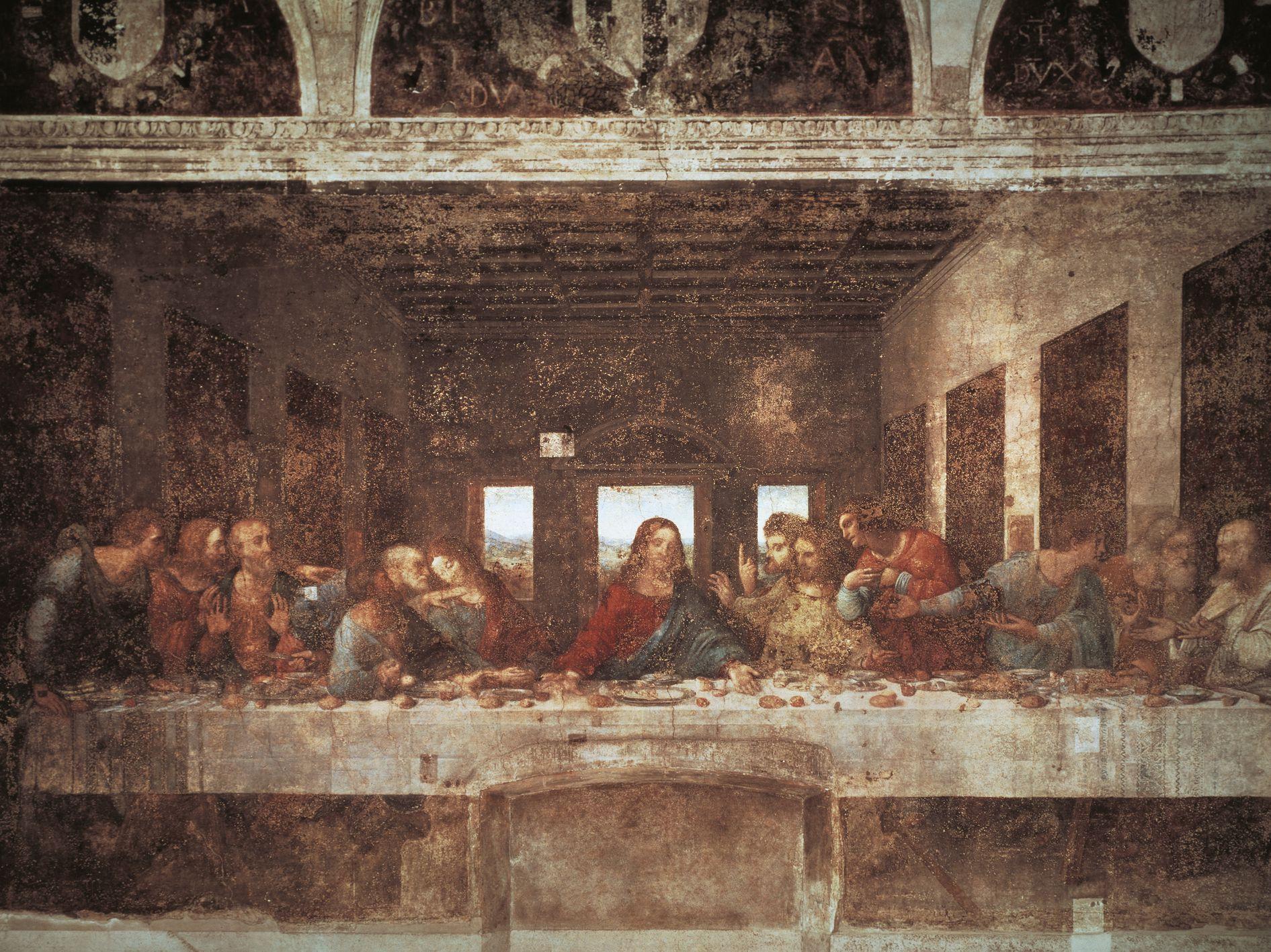 Leonardo Da Vinci The Last Supper Coloring Page The Disembodied Hand In Da Vincis The Last Supper