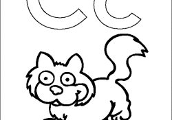 Letter C Coloring Pages For Preschoolers Letter C Cats Coloring Pages For Preschoolers Bestappsforkids