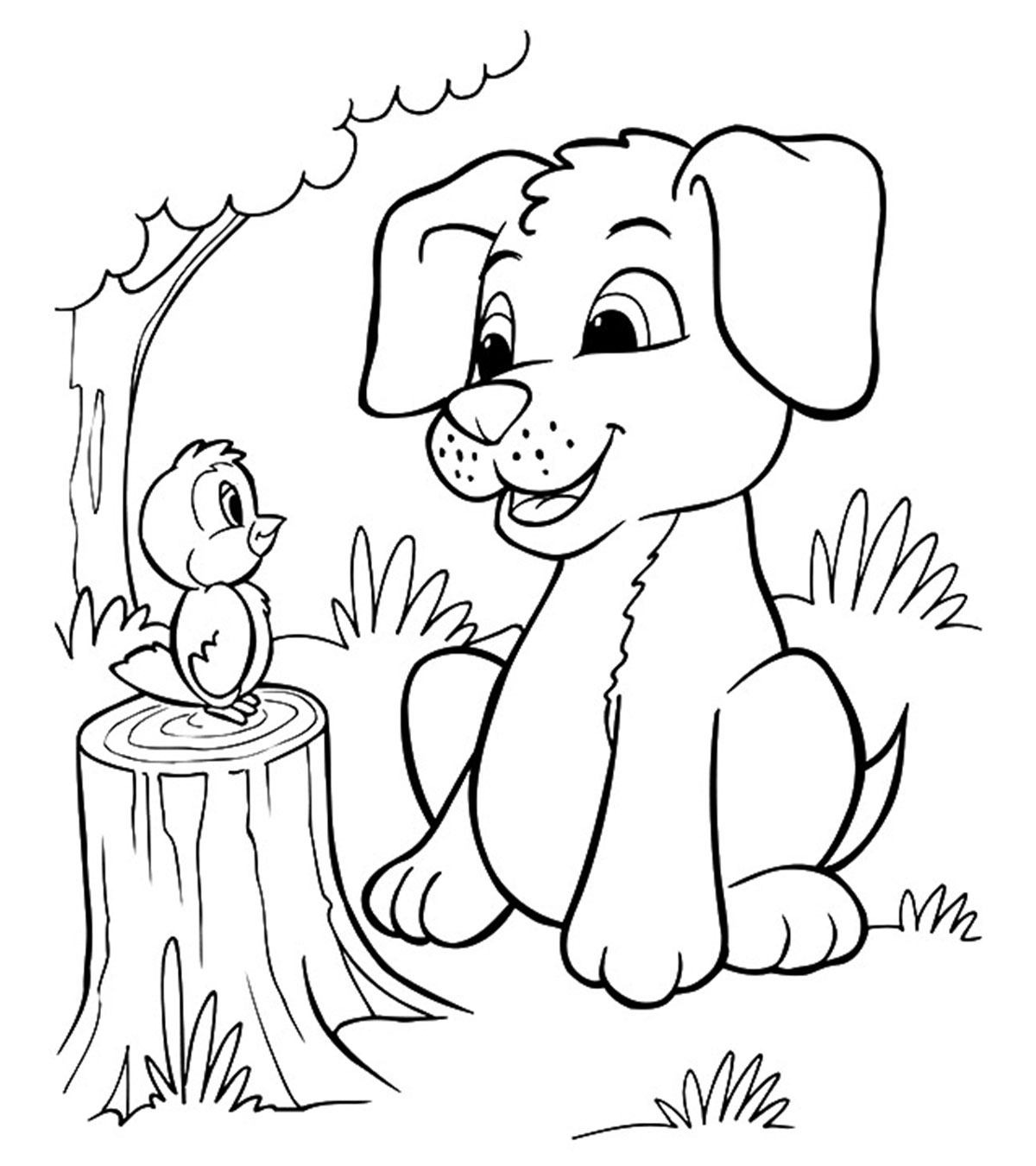 Little Puppy Coloring Pages Top 30 Free Printable Puppy Coloring Pages Online