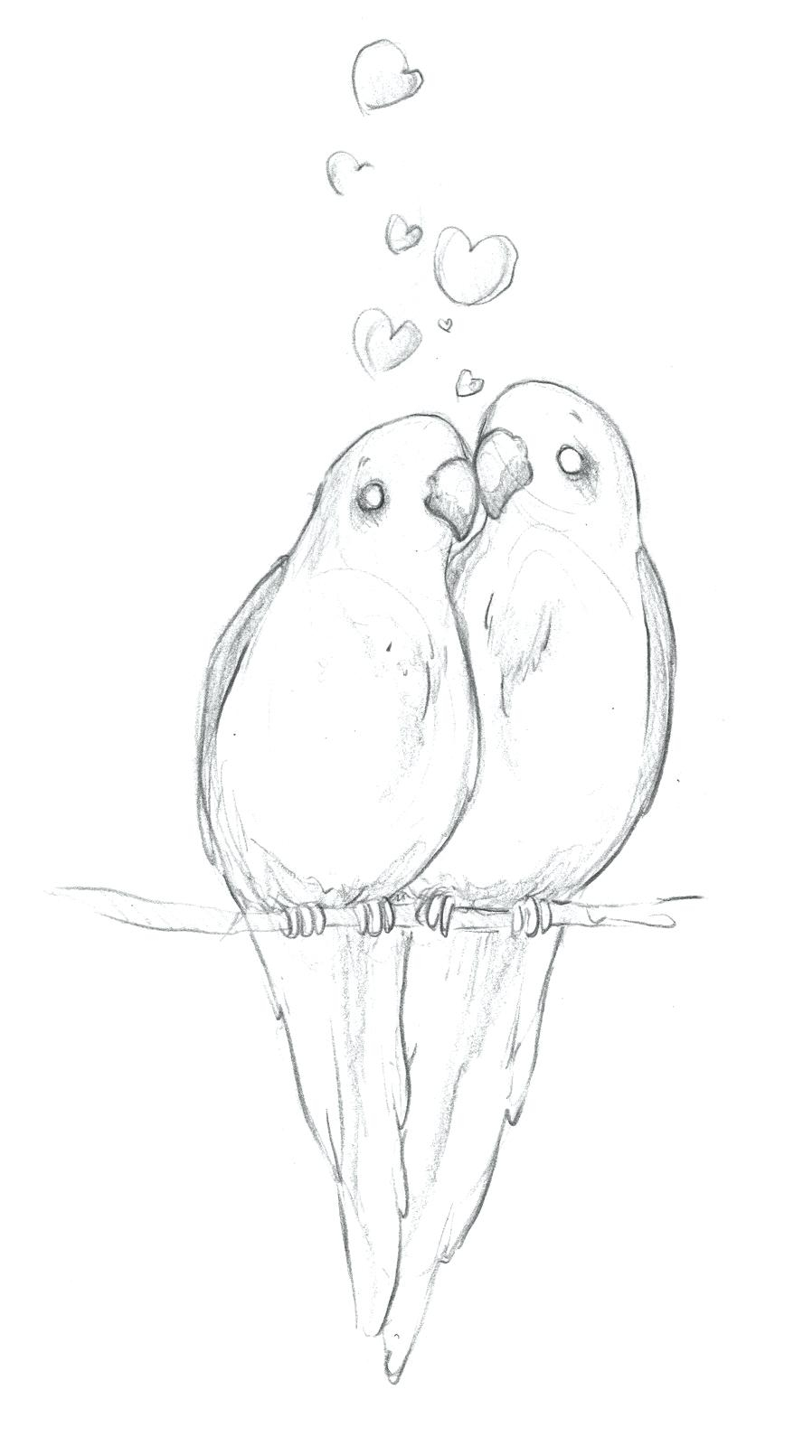 Love Bird Coloring Pages Coloring Pages Love Birds Cortexcolorco