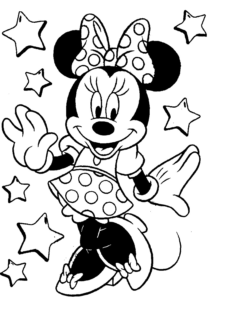 Mickey And Minnie Coloring Pages To Print Coloring Pages Mickey Minnie Mouse Coloring Pages And Pictures To
