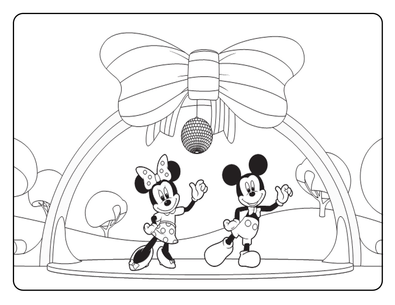 Mickey And Minnie Coloring Pages To Print Free Printable Mickey Mouse Coloring Pages For Kids
