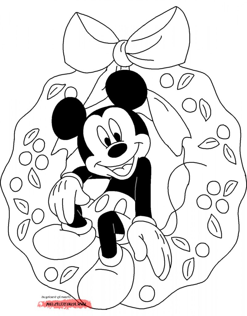 Mickey Mouse And Minnie Coloring Pages Coloring Excelent Mickey Mouse Pictures To Color Stunning Coloring