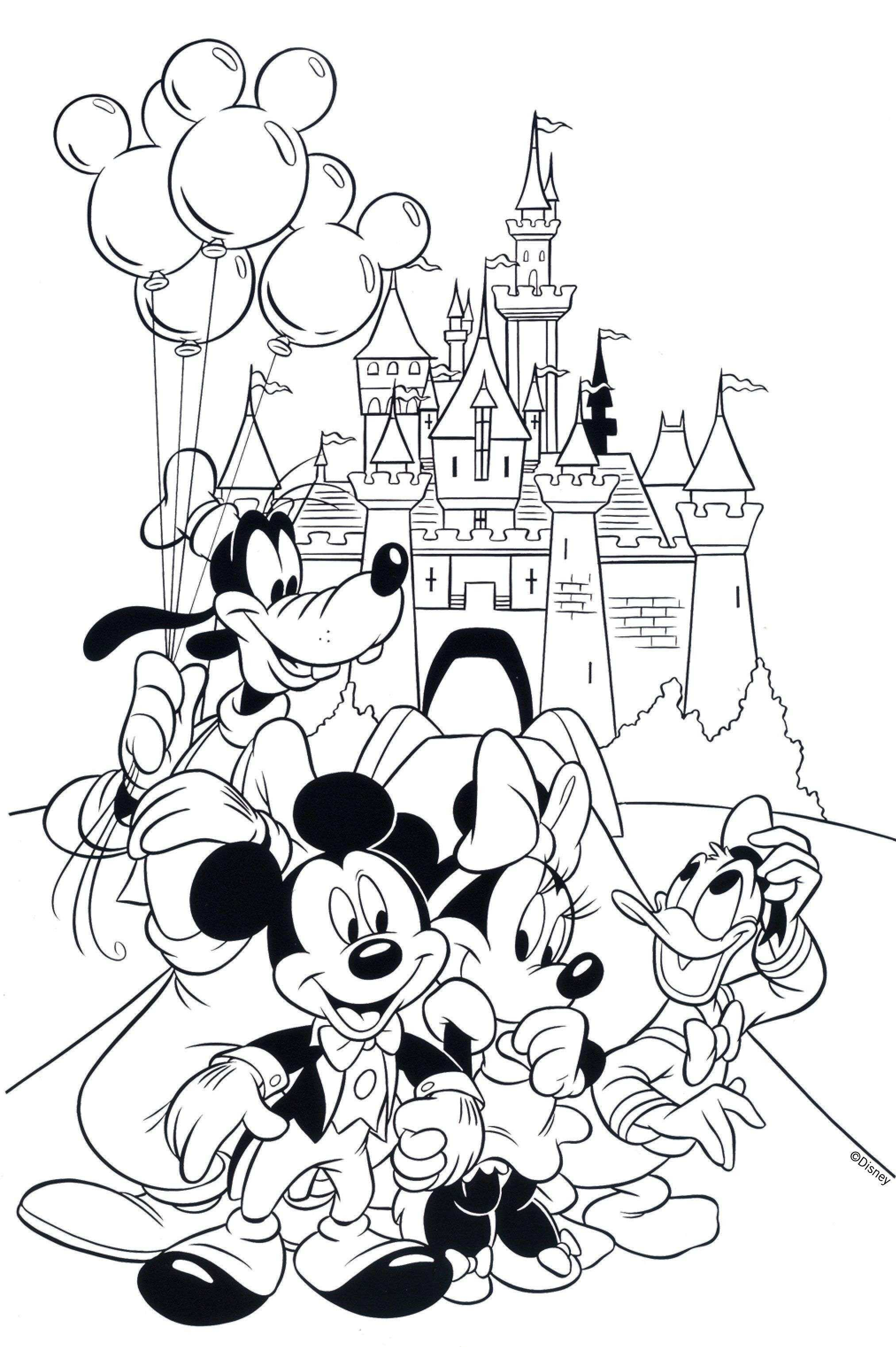 Mickey Mouse And Minnie Coloring Pages Mouse Coloring Pages For Kids With Free Printable Minnie Mouse