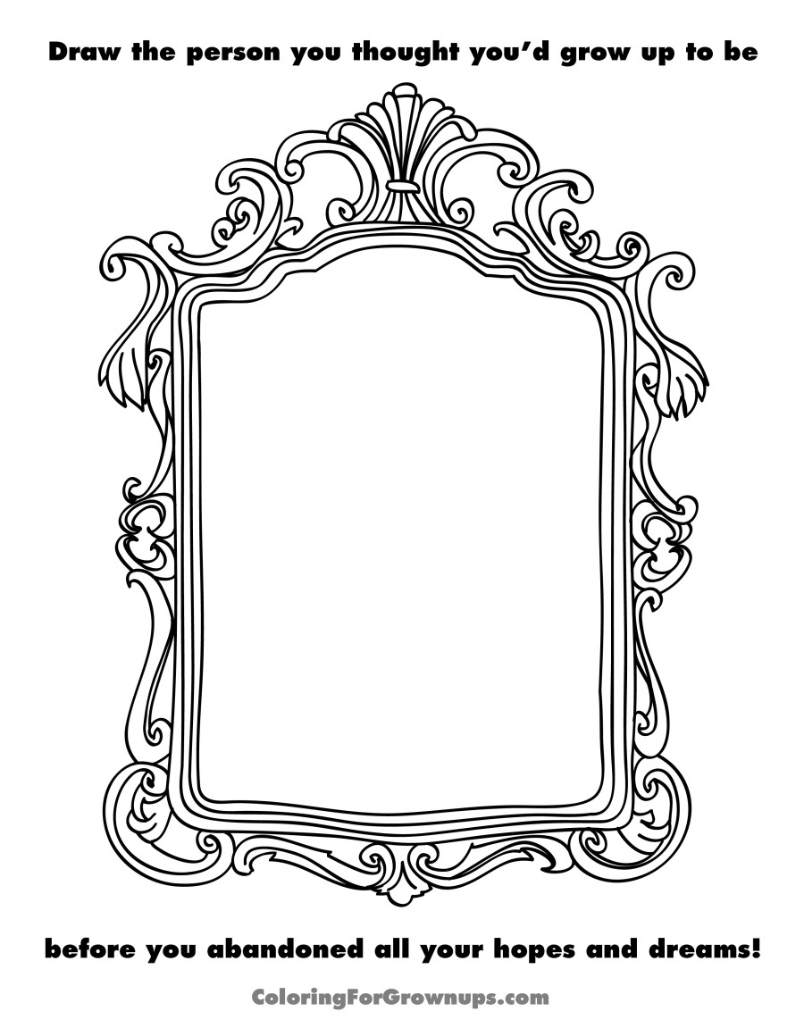 My Room Coloring Pages A Coloring Book For Grown Ups Captures The Beautiful Horrors Of