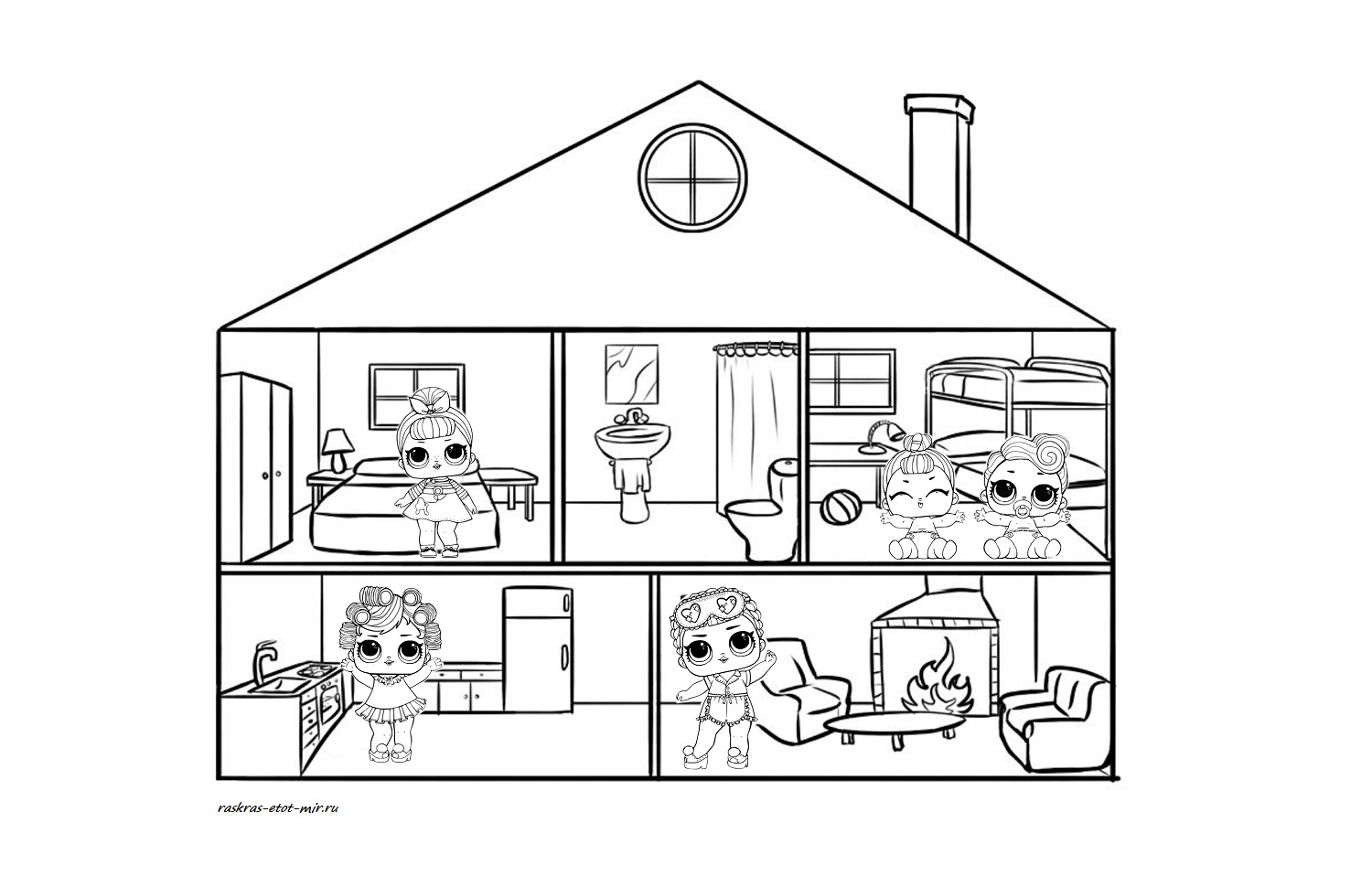 My Room Coloring Pages Lol Surprise Dolls Coloring Pages Print Them For Free All The Series
