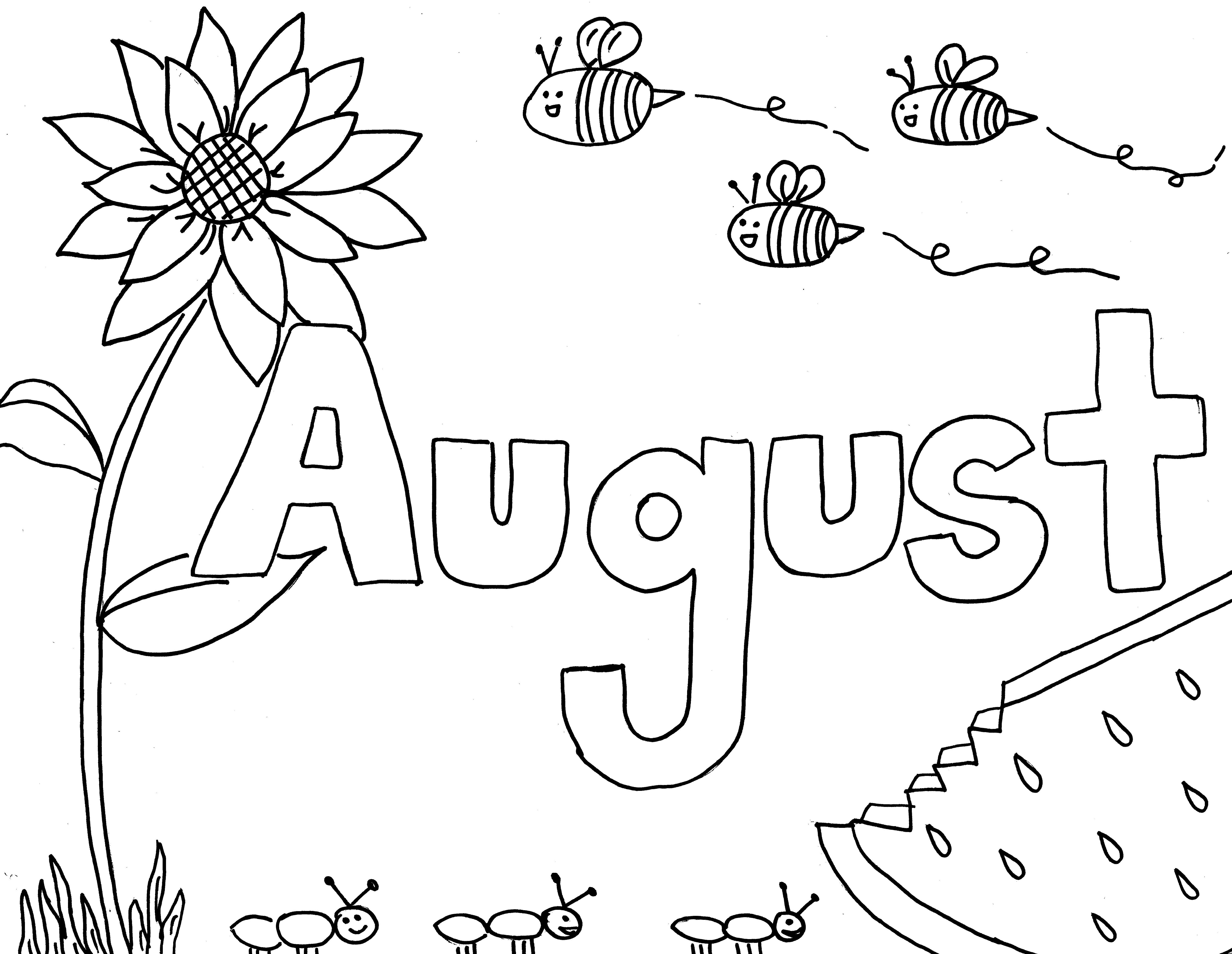 My Room Coloring Pages Printable Monthly Coloring Pages The Empowered Provider