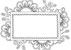 Name Coloring Page Name Templates Coloring Pages Doodle Art Alley