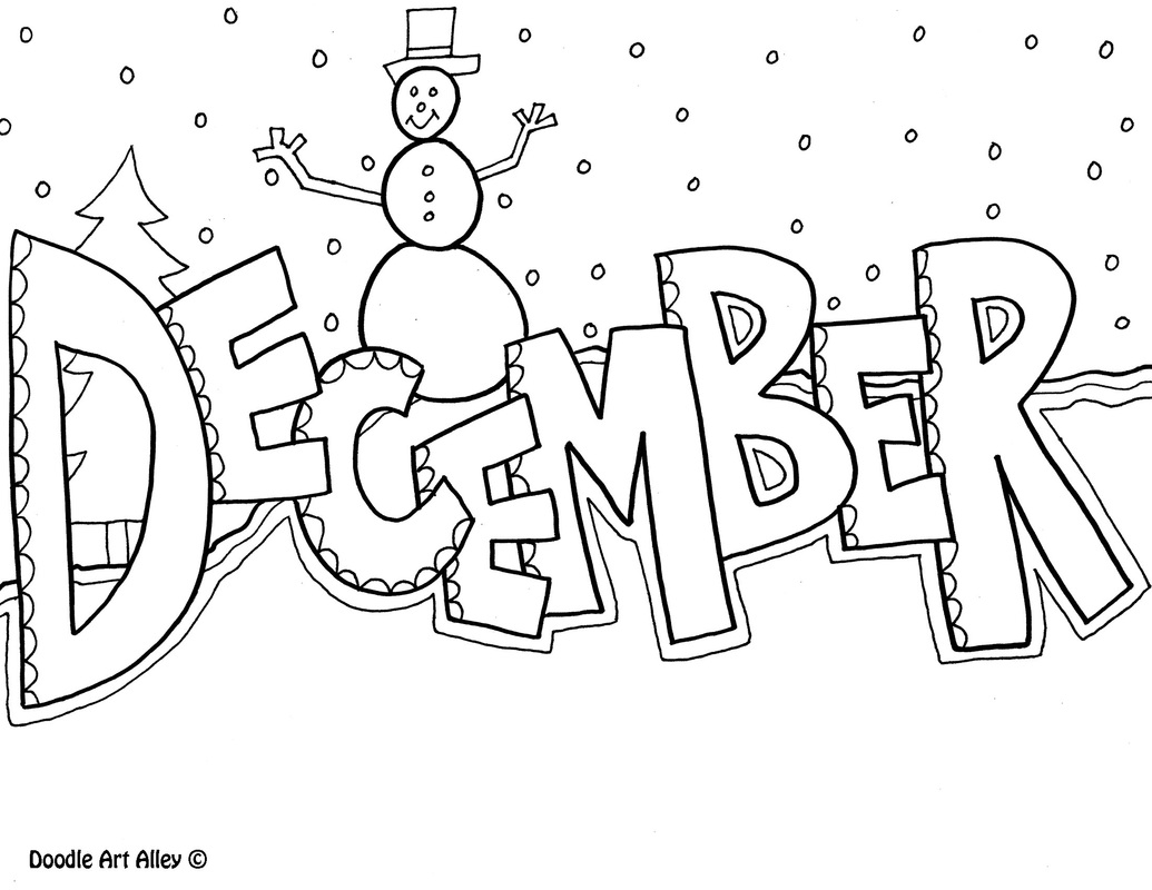November Color Pages Months Of The Year Coloring Pages Classroom Doodles