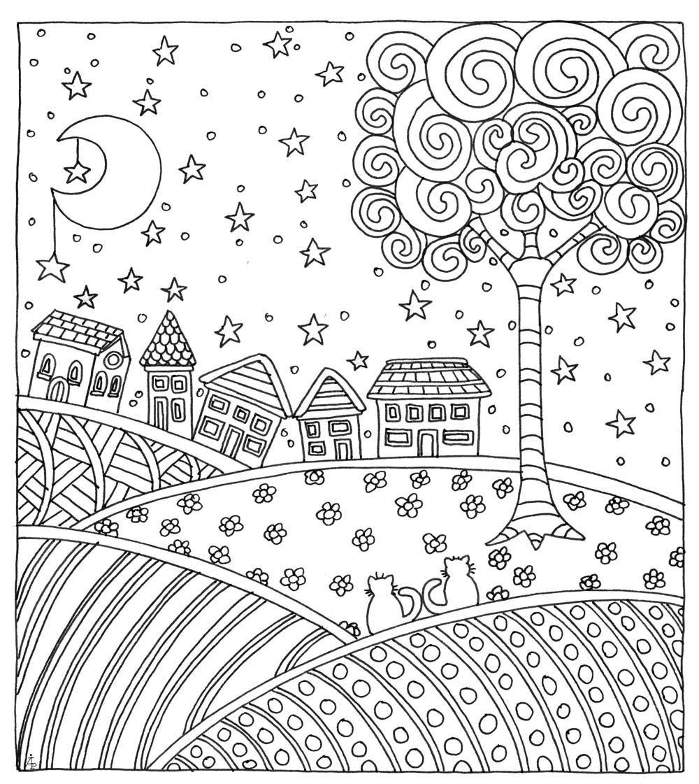 November Color Pages November 2018 Page 3 Vingel