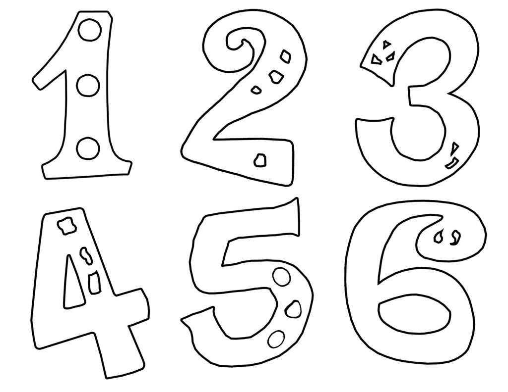 Number 6 Coloring Page Educational Coloring Pages For Kindergarten Printable Coloring