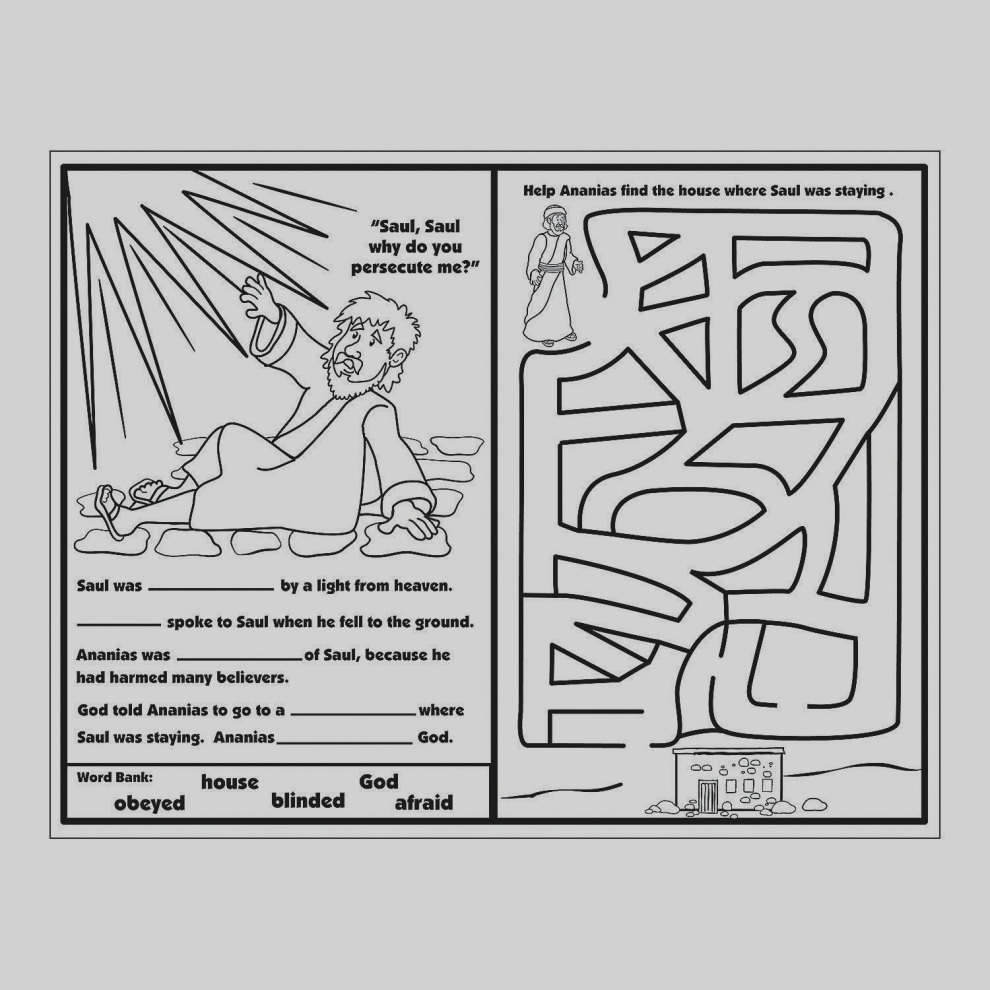 Paul Coloring Pages Coloring Ideas Coloring Ideas Bible Of Paul In Basket Pages Road