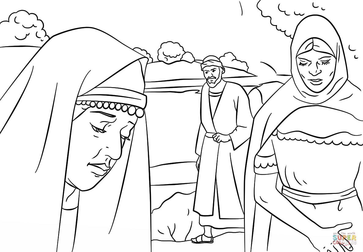 Paul Coloring Pages Lydia And Paul Coloring Page Free Printable Coloring Pages