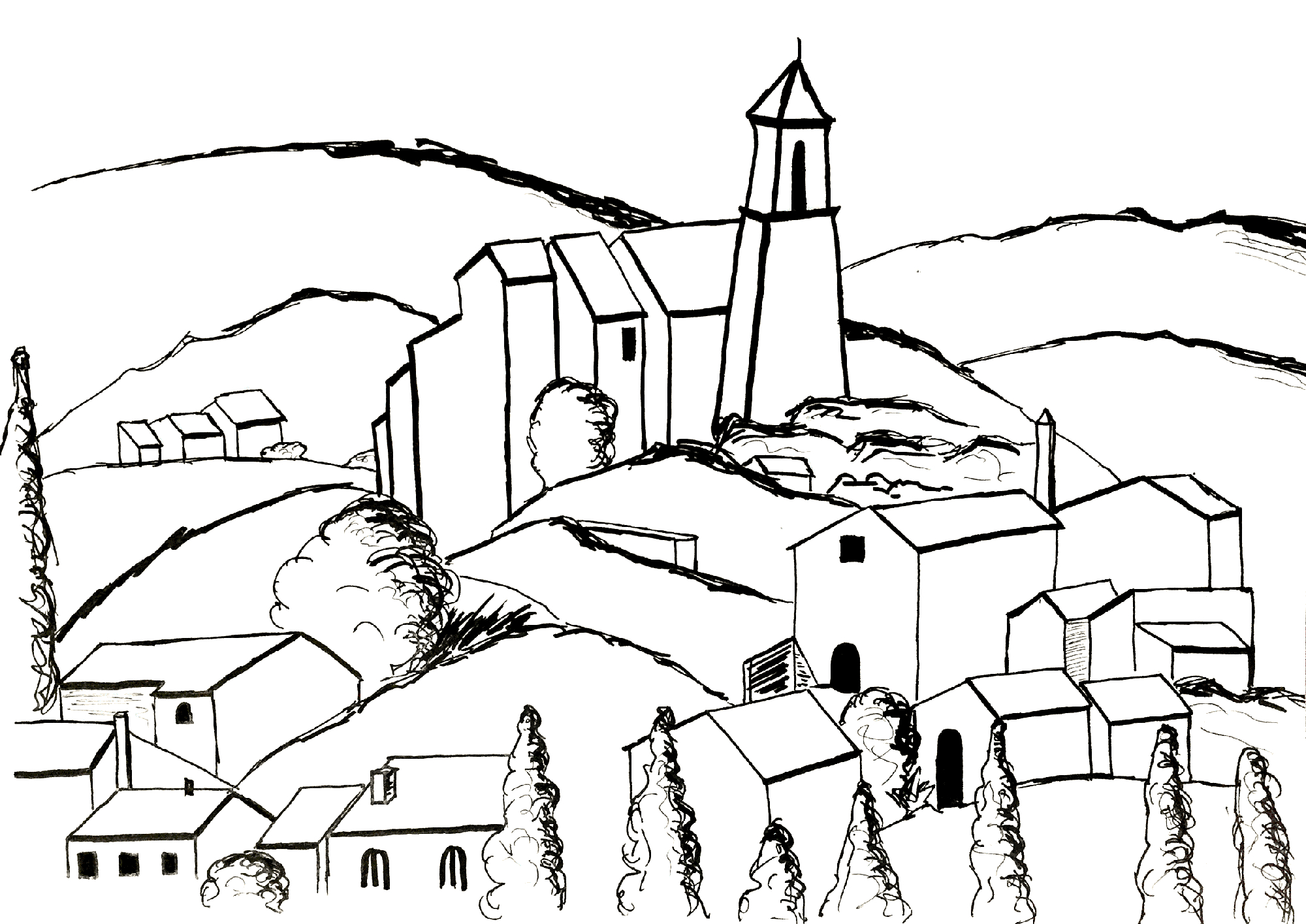 Paul Coloring Pages Paul Cezanne Free To Color For Kids Paul Cezanne Kids Coloring Pages