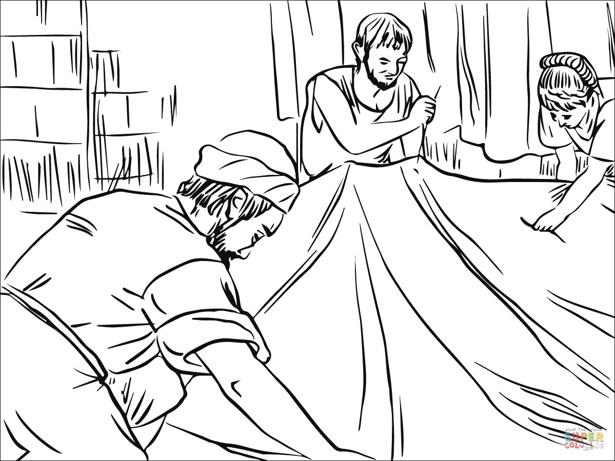 Paul Coloring Pages Paul Lived And Worked With Priscilla And Aquila In Corinth Coloring