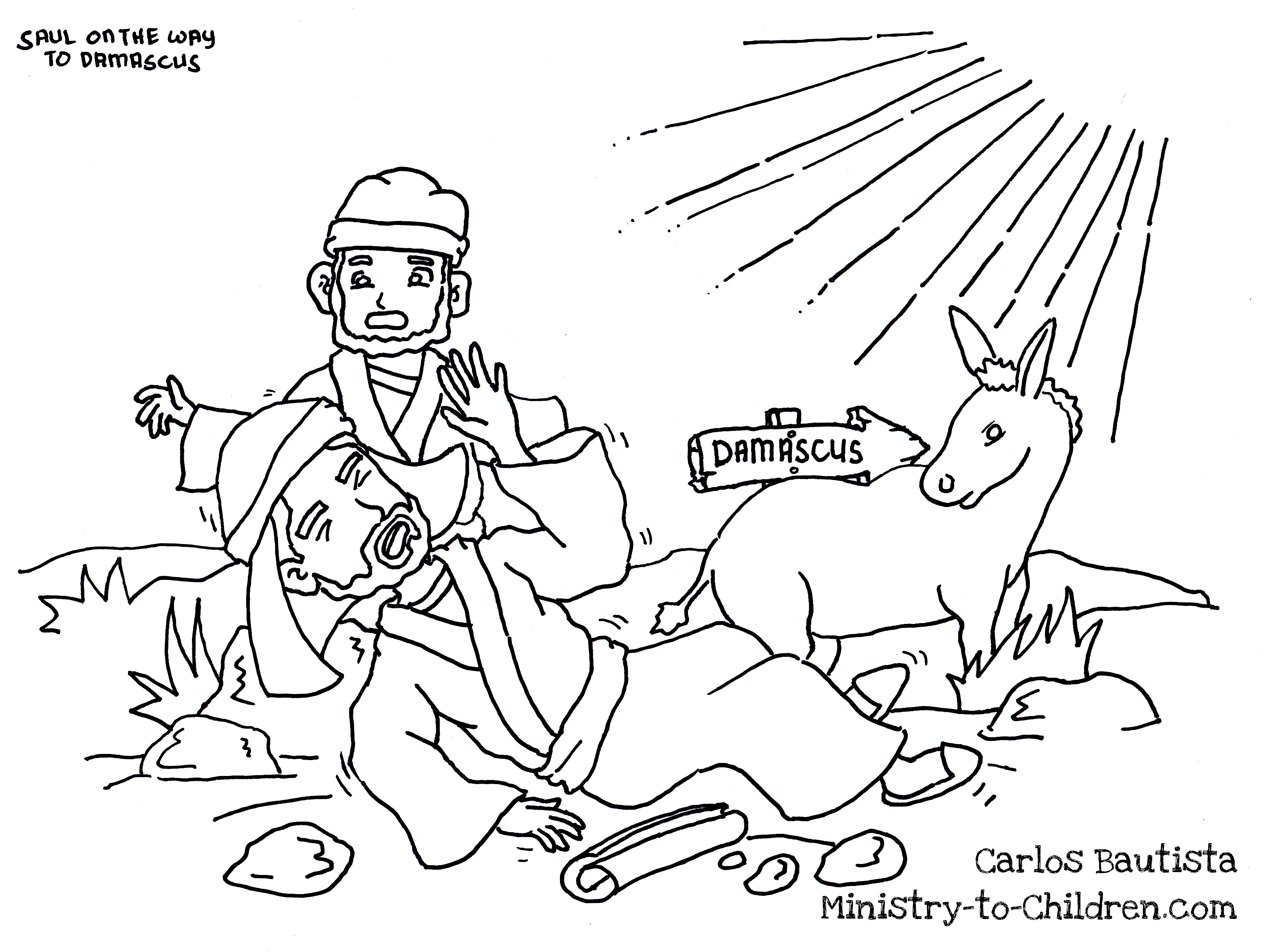Paul Coloring Pages Saul Becomes Paul Coloring Pages Awesome Achan Page Color Bros Of