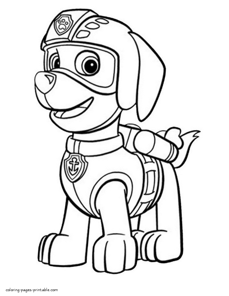 Paw Patrol Coloring Pages Marshall Coloring Book Ideas Peppa Pigoring Page Marshall Paw Patrol For