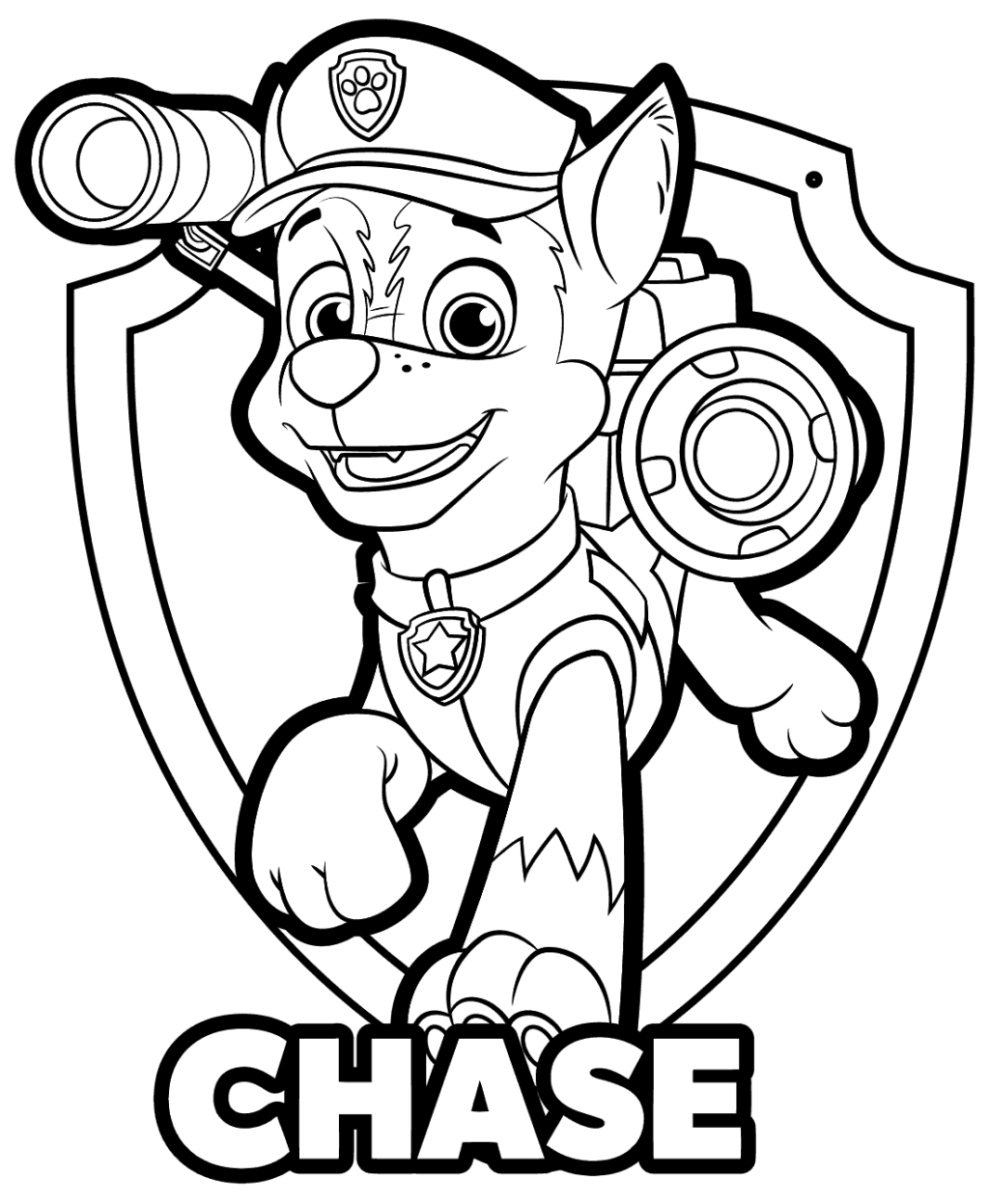 Paw Patrol Coloring Pages Marshall Coloring Book World Paw Patrol Super Pups Coloring Pages How To