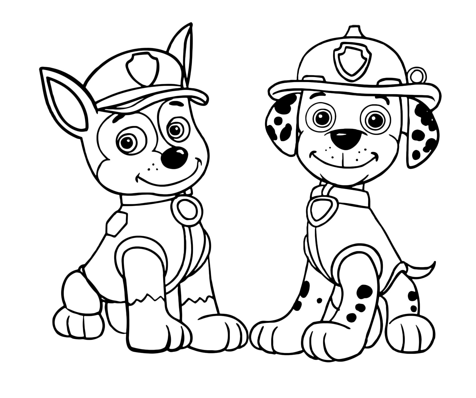 Paw Patrol Coloring Pages Marshall Coloring Pages Coloring Ideas Paw Patrol Pages Marshall Lovely