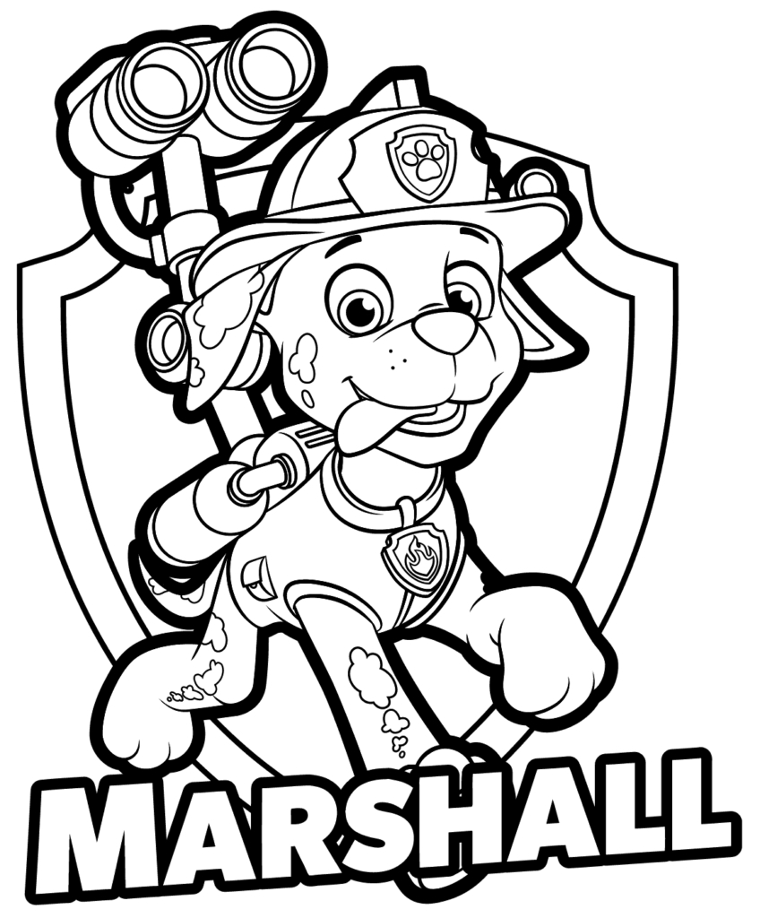 Paw Patrol Coloring Pages Marshall Coloring Pages Nick Jonas Peppa Pig Coloring Page Freent Toys Paw