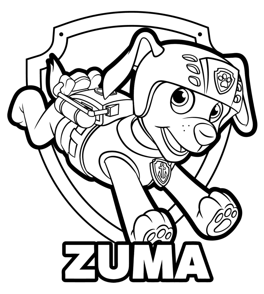 Paw Patrol Coloring Pages Marshall Coloring Pages Stunning Marshall Paw Patrol Coloring Page Pages