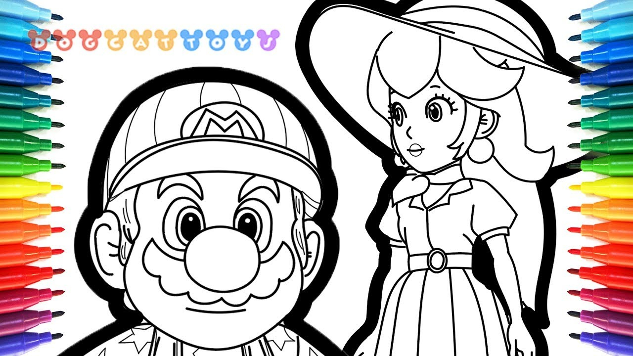 Peach From Mario Coloring Pages How To Draw Super Mario Odyssey Mario Princess Peach 65 Drawing Coloring Pages For Kids