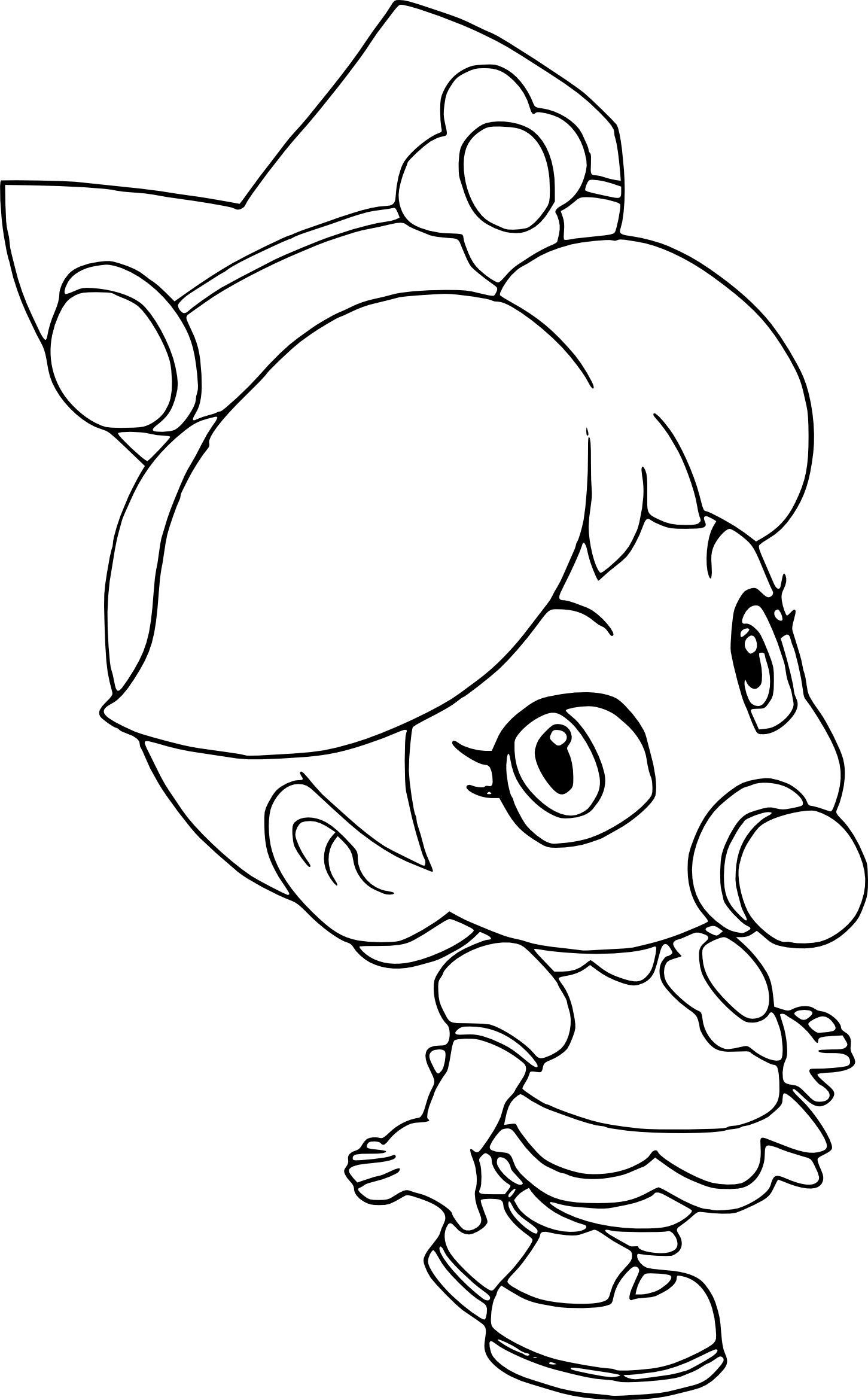 Peach From Mario Coloring Pages Mario Brothers Princess Peach Coloring Pages Inspirational Coloring