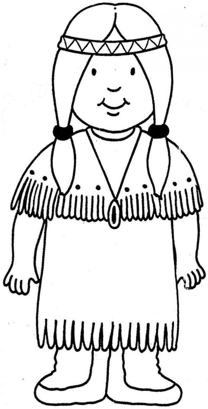 Pilgrim Indian Coloring Pages Indian Coloring Pages Free Download Best Indian Coloring Pages On