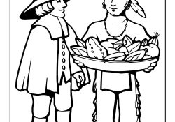 Pilgrim Indian Coloring Pages Pilgrim Indian Coloring Page Woo Jr Kids Activities
